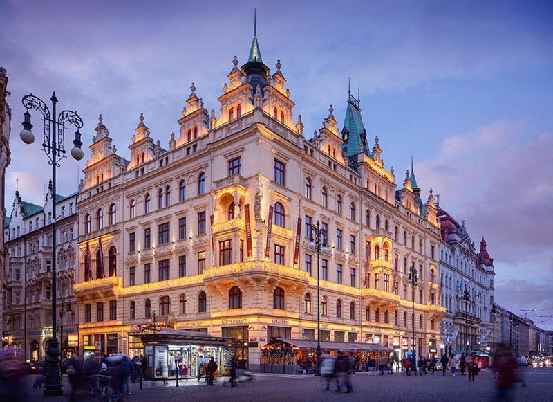 Hotel in Praag